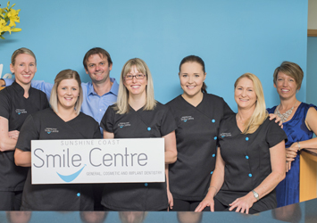 Sunshine Coast Smile Centre dental clinic staff